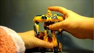 (French) Review Transformers Prime Deluxe RID Bumblebee