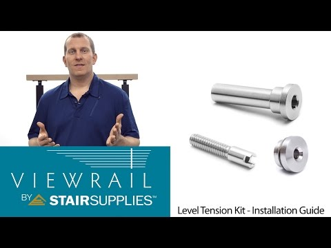 Cable Railing Level Tension Kit Installation Guide - Stair Supplies