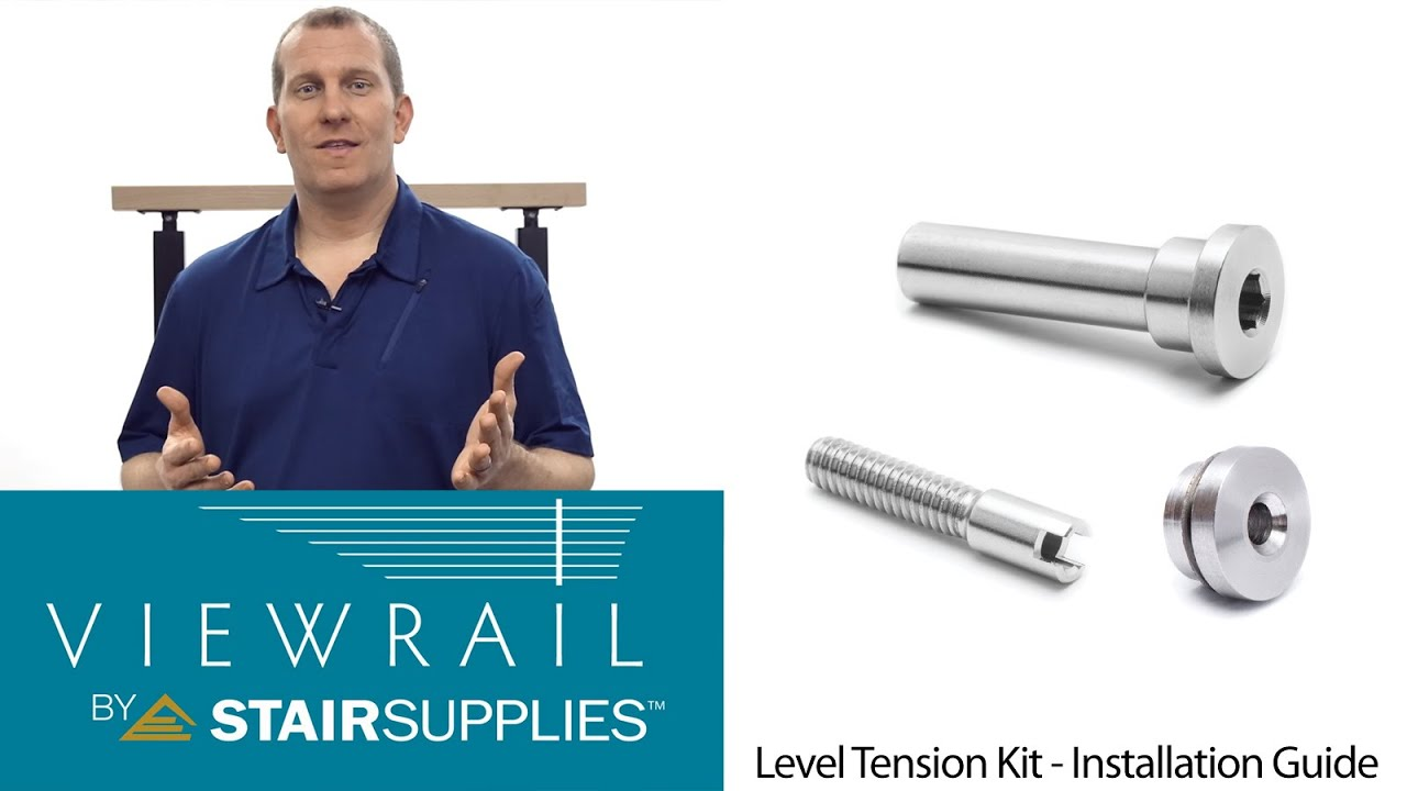 Exceptional Cable Railing Level Tension Kit Installation Guide   Stair Supplies