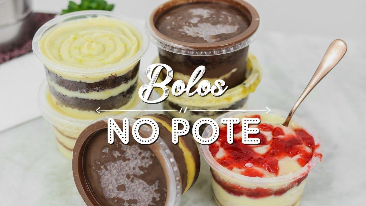 6 RECEITAS DE BOLOS NO POTE