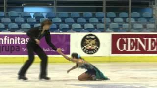 5 S. CIBULKOVA / A. STRAVINSKAS (LTU) - ISU JGP Croatia Cup 2012 Junior Ice Dance Free Dance