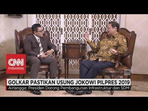 Ini Alasan Golkar Usung Jokowi Di Pilpres 2019