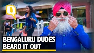 The Quint: These Bengaluru Men Participated in The City's First Beard and Moustache Competition