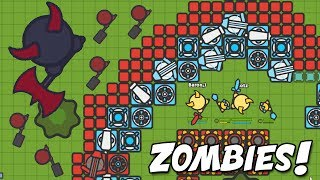 Zombs.io BEST BASE  vs MASSIVE BOSS & New Update (Zombs.io New Update Gameplay w/Blitz)