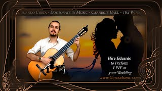 Hire Eduardo to play at your wedding! Tucson and Phoenix area