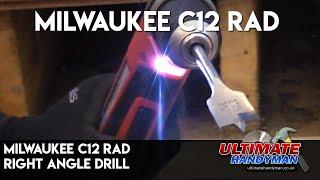 Milwaukee c12 rad   Right angle drill