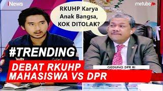 Dialog dengan Mahasiswa, Fahri: RKUHP Karya Anak Bangsa, Kok Ditolak? - Breaking iNews 24/09