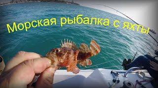 Открыли сезон рыбалки в Черном море Рыбалка с яхты