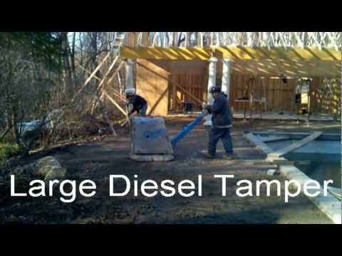 How To Compact Base Material For A Concrete Paver Patio By Deck And Patio  Company