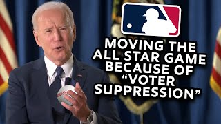 Baseball Moving All-Star Game Because of 'Voter Suppression'