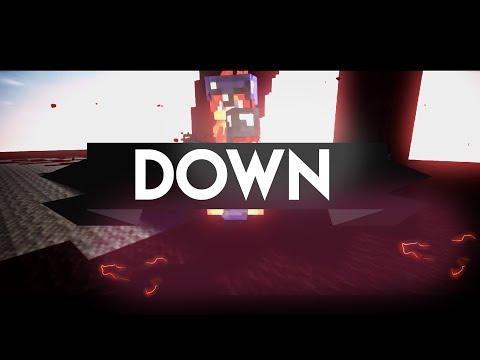 """DOWN"" MINECRAFT PVP MONTAGE EDIT [REPLAY MOD]"