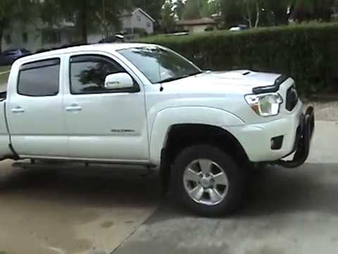 Toyota Tacoma Mods >> 2015 TOYOTA TACOMA TRD SPORT WITH 3 INCH LIFT KIT - YouTube
