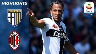 Parma 1-1 Milan | La magnifica punizione di Alves pareggia i conti in extremis | Serie A