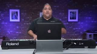 Roland FA-06/08 - How to MIDI sequence using Ableton Live