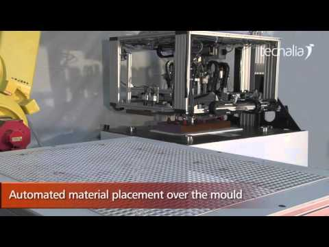 TECNACOMP by Tecnalia: Fast, automated and energy efficient manufacturing of composite components
