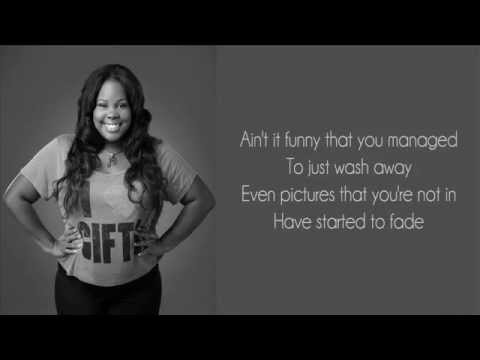 Amber Riley (Glee) - Colourblind (Lyrics)