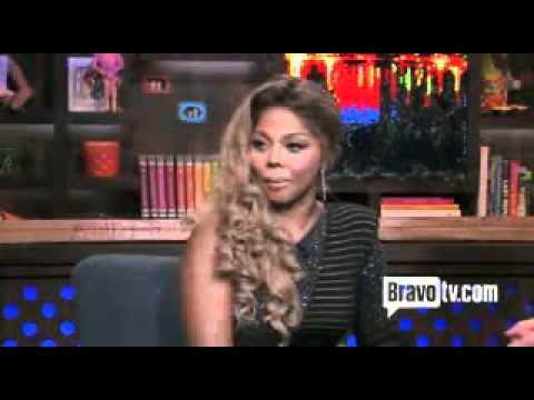 Lil' Kim asked about  Nicki Minaj song stupid hoe (Property of bravotv.com)