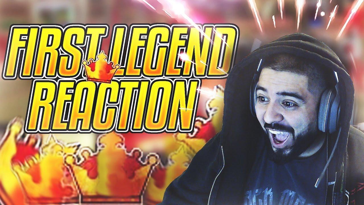 Nba 2k17 First Legend Reaction Youtube