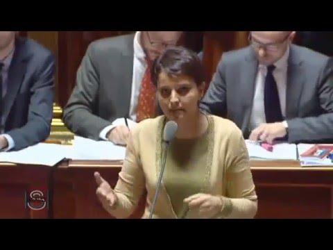 Sénat : NVB s'octroie 2 min 51 s de réponse à une question le 28-04-2016