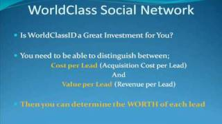 4) WorldClassID Social Networking Software Service 4