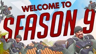 WELCOME TO SEASON 9 COMPETITIVE OVERWATCH!