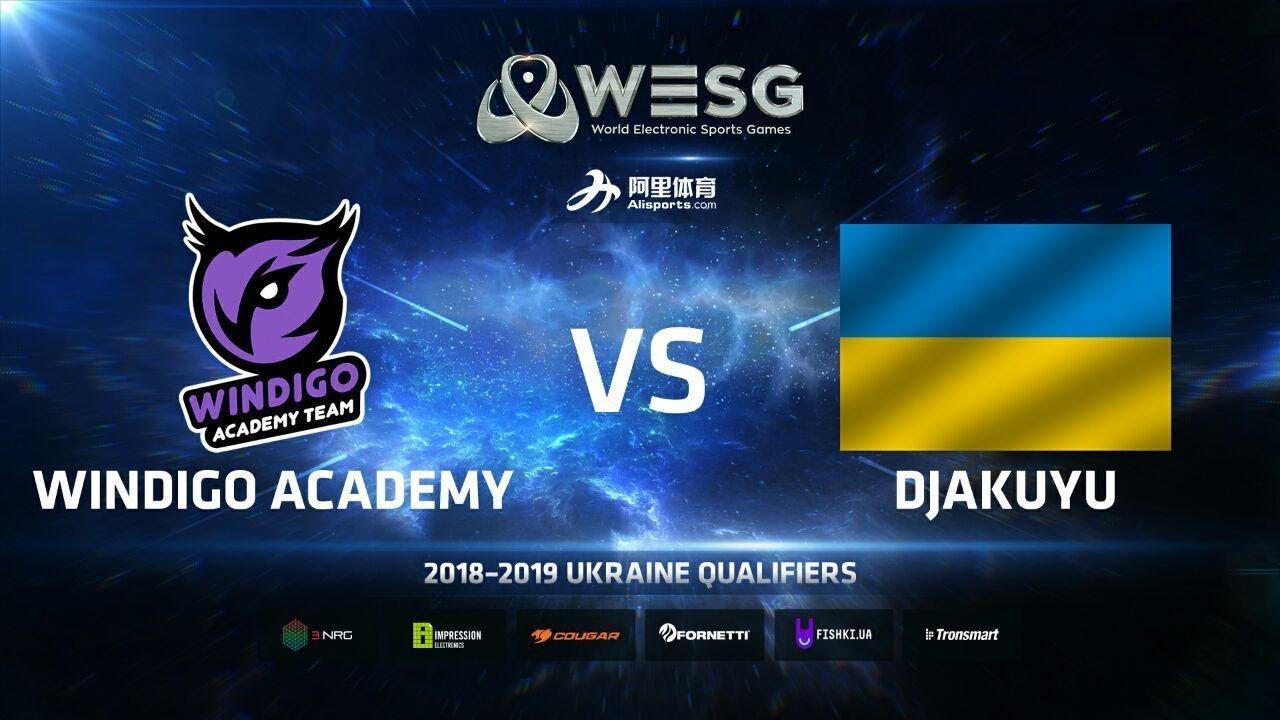 Windigo Academy vs djakuyu, map 1 Inferno, WESG 2018-2019 Ukraine Finals