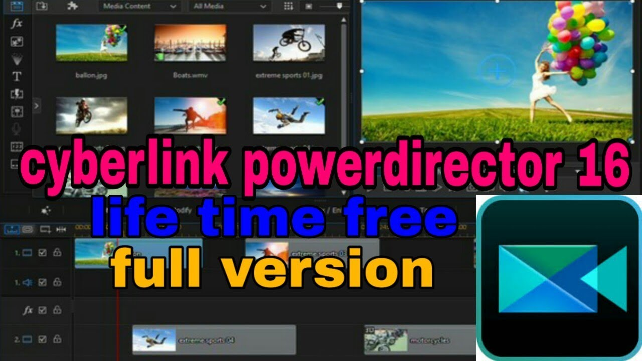 cyberlink powerdirector 6 free download full version