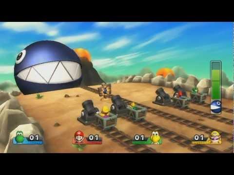 Mario Party 9 - Boss Battle - Chain Chomp Romp