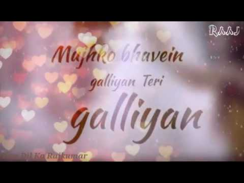 Teri Galiyan | Sad Love Song | Whatsapp Status| Love Status | Ringtone | Broken Heart Love Status |