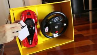 unboxing ferrari rc car