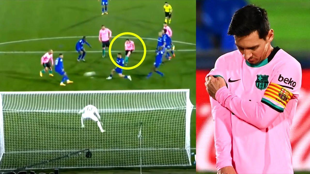 Месси ПРОМАХНУЛСЯ и не спас Барселону от ПОЗОРА. Хетафе - Барселона 1:0 MyTub.uz