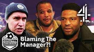 Is the Manager to Blame If His Players Don't Perform Well?   The Real Football Fan Show