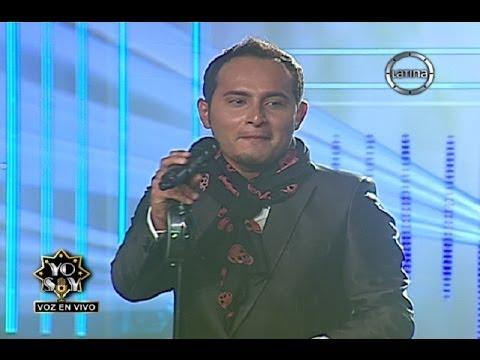 """Jesús Navarro De Reik Interpretó """"Noviembre Sin Ti"""" En Yo Soy 2014"""