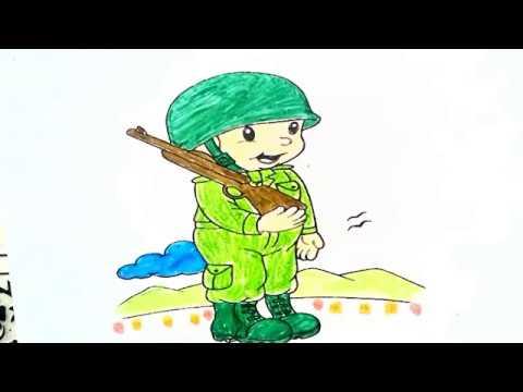 Asker Boyama çiz Ve Boya Youtube