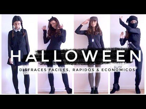 DIY Disfraces de Halloween con Ropa de tu Armario Cápsula   Fáciles, Económicos y de Último Minu