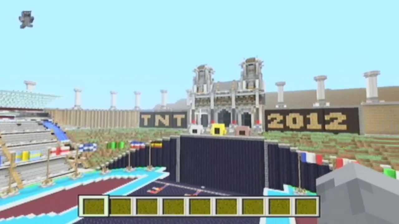 Tnt olympics mania 2013 bang!!! Minecraft project.