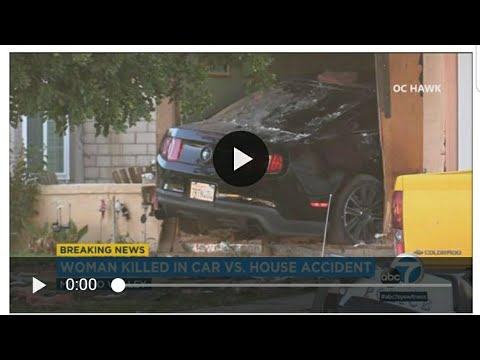Mustang crashes into house in Moreno valley