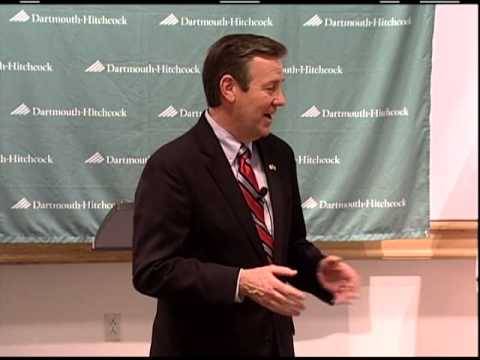 Health Policy Grand Rounds: Republican party nominee for the office of NH Governor, Ovide Lamontagne