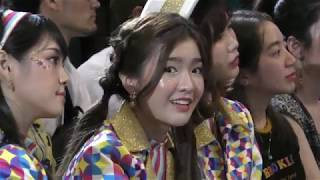 090719 Jennis BNK48 - Reaction to The Toys Concert @ LINE Stickers Awards 2019