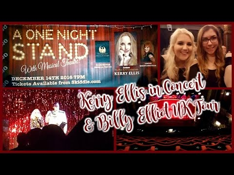 Manchester Vlog! Seeing Kerry Ellis in Concert & Billy Elliot UK Tour