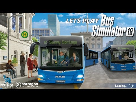Bus Simulator 16 - Lets Play - Episode 15 (Creating A Tourist Route) |