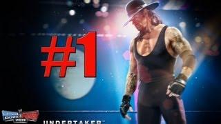 WWE Smackdown vs Raw 2011 VS. Undertaker Part 1 ROAD TO WRESTLEMANIA