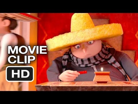 Despicable Me 2 Movie CLIP - Guacamole (2013) - Steve Carell Sequel HD