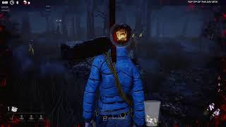 Dead by Daylight RANK 1 SURVIVOR VS LEATHERFACE! - THAT CHASE TILTED HIM!