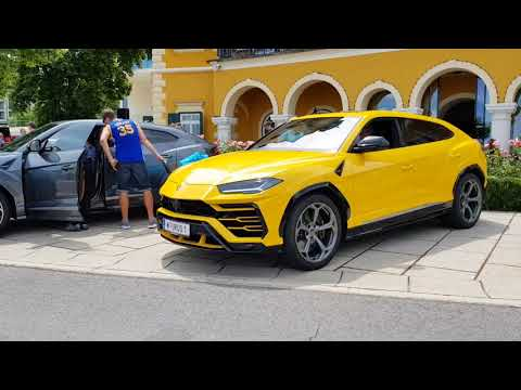 Lamborghini Urus SOUND vs. Huracan Performante spyder vs. Aventador S