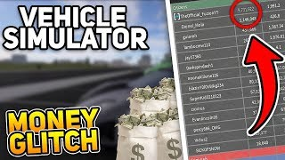 MONEY GLITCH IN VEHICLE SIMULATOR | Roblox
