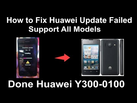 How to Fix Huawei Update Failed - Support For All Models