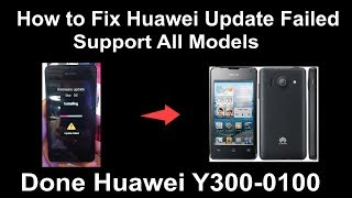 How to Fix Huawei Update Failed - Support For All Models thumbnail