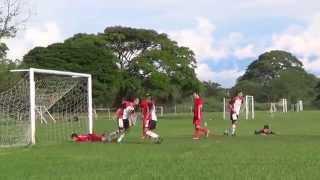 2014-11-19 Gol Daniel Castillo 1-1 (1-3) Morumbi Inf A vs America P.S. Liga elite hexagonal final