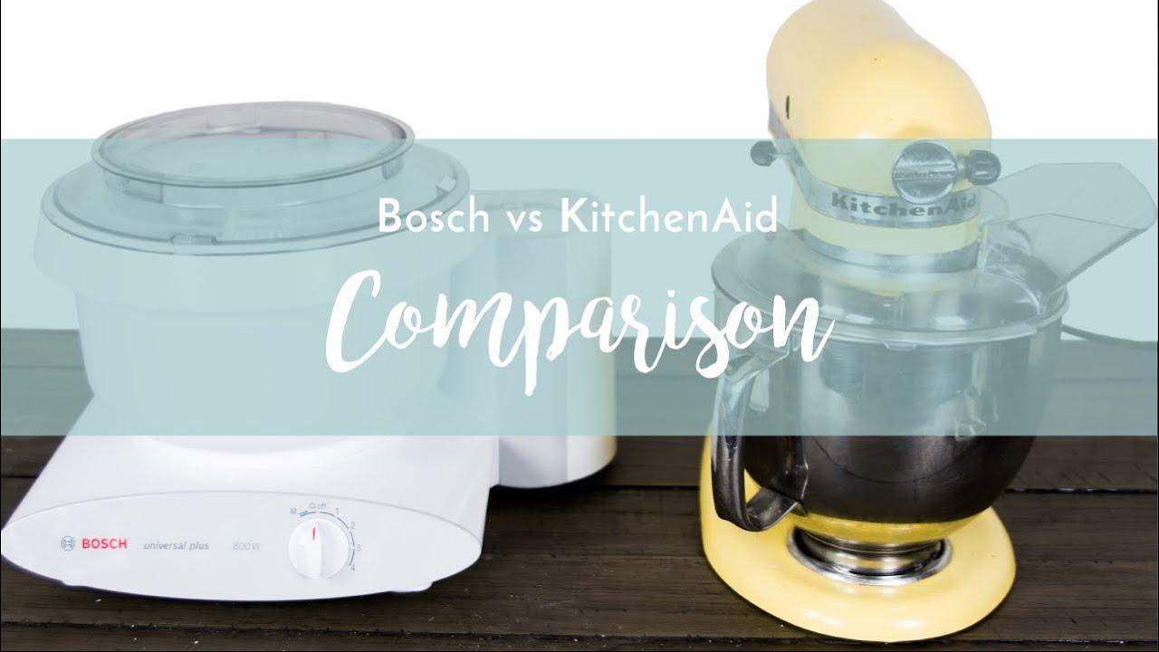 Bosch Universal Mixers versus Kitchen Aid Mixers: Which One? (2018)
